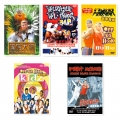 【嘻哈街舞】男生版系列5支合購DVD