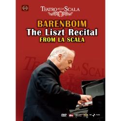 李斯特音樂會-◎巴倫波因◎史卡拉劇院鋼琴獨奏 DVD