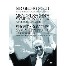 經典蕭提II-孟德爾頌/蕭士塔高維契第十號交響曲