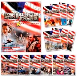 【GRB好萊塢特技威龍全系列(13片DVD)】(英雄本色、生死一瞬間、七百呎自由落體、驚爆生死線)